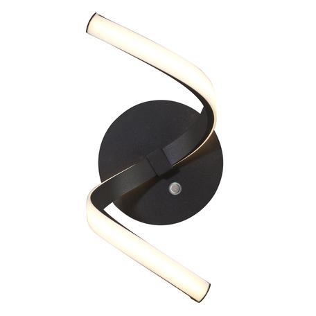Настенный светильник Mantra Nur 5830, коричневый, белый, металл, пластик