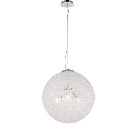 Подвесной светильник Mantra Bola 5710, хром, металл, пластик