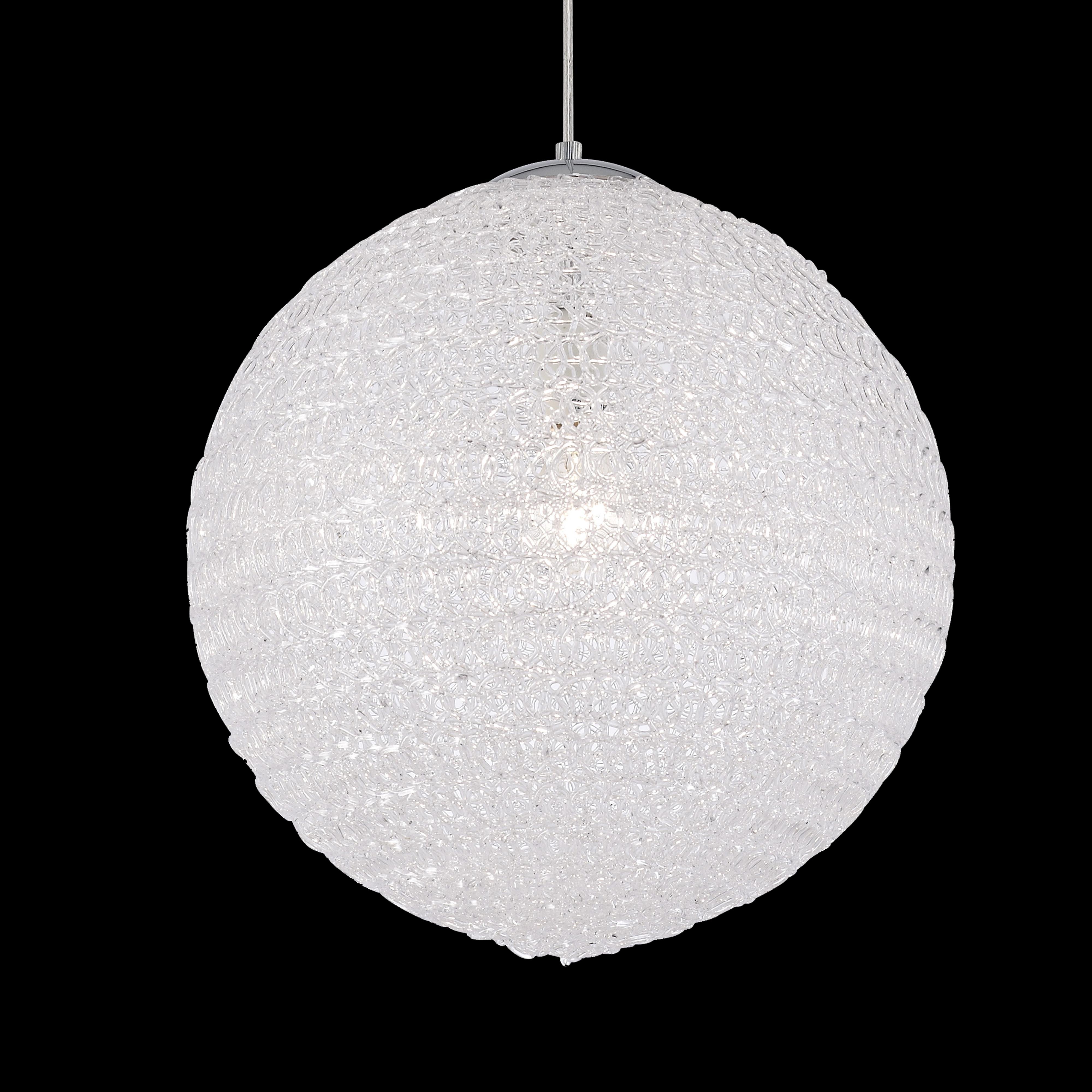 Подвесной светильник Mantra Bola 5711, хром, металл, пластик - фото 3