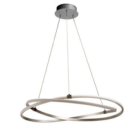 Подвесной светильник Mantra Infinity 5725, матовый хром, белый, металл, пластик