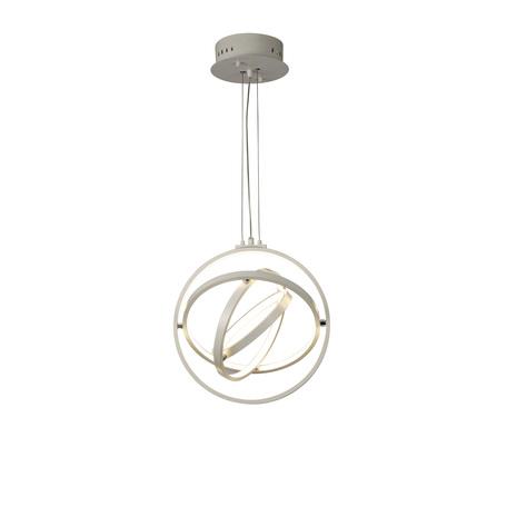 Подвесной светильник Mantra Orbital 5742, белый, металл, пластик