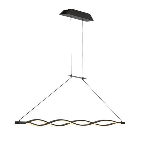 Подвесной светильник Mantra Sahara 5801, коричневый, белый, металл, пластик