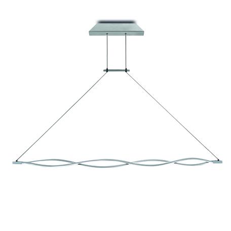 Подвесной светильник Mantra Sahara 5815, матовый хром, белый, металл, пластик