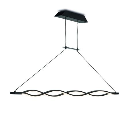 Подвесной светильник Mantra Sahara 5817, коричневый, белый, металл, пластик