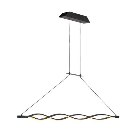 Подвесной светильник Mantra Sahara 5818, коричневый, белый, металл, пластик