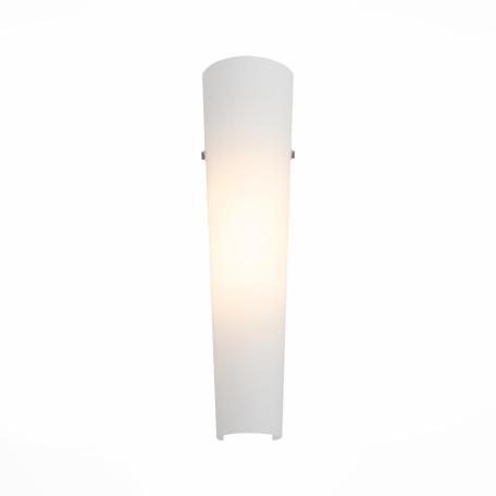 Настенный светодиодный светильник ST Luce Snello SL508.501.01, LED 8W 4000K, белый, металл, стекло