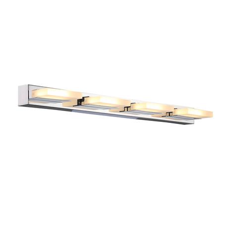 Настенный светодиодный светильник ST Luce Contempo SL441.101.04, LED 24W 4000K, хром, белый, металл, пластик