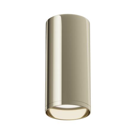 Потолочный светильник Maytoni Focus C010CL-01G, 1xGU10x50W, золото, металл