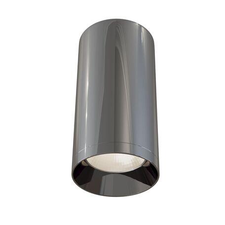 Потолочный светильник Maytoni Focus C010CL-01GF, 1xGU10x50W, черный хром, металл
