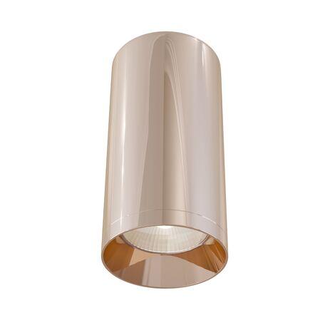 Потолочный светильник Maytoni Technical Alfa C010CL-01RG, 1xGU10x50W, медь, металл