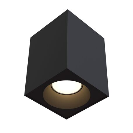 Потолочный светильник Maytoni Sirius C030CL-01B, IP65, 1xGU10x50W, черный, металл