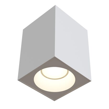 Потолочный светильник Maytoni Sirius C030CL-01W, IP65, 1xGU10x50W, белый, металл