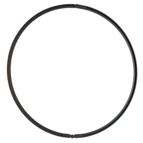 Шинопровод в сборе с питанием и заглушкой Maytoni Busbar trunkings TRX002-111B, черный, металл