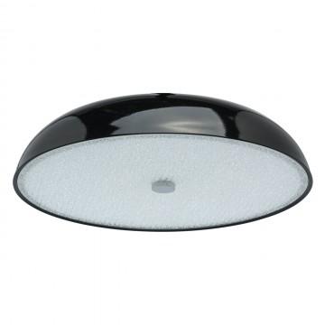 Потолочный светильник MW-Light Канапе 708010205, 5xE27x60W, черный, матовый, металл, стекло