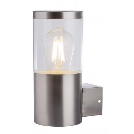 Настенный светильник Globo Lalli 34019, IP44, 1xE27x60W, хром, прозрачный, никель, металл, пластик