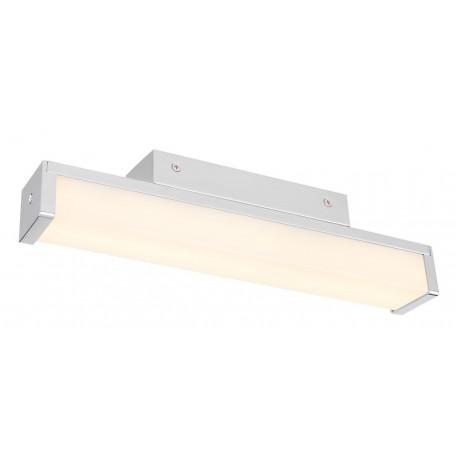 Настенный светодиодный светильник Globo Tiffo 41502-6, IP44, LED 6W, хром, белый, металл, пластик