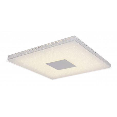 Потолочный светодиодный светильник Globo Denni 49336-36, LED 36W, серебро, белый, металл, стекло с пластиком