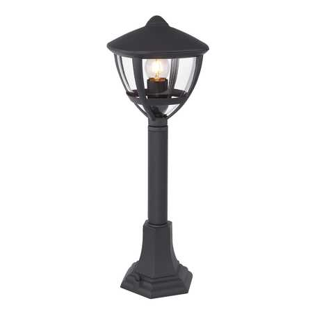 Уличный фонарь Globo Nollo 31997, IP44, 1xE27x40W, черный, металл, пластик