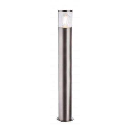 Уличный фонарь Globo Lalli 34019S2, IP44, 1xE27x60W, никель, прозрачный, металл, пластик