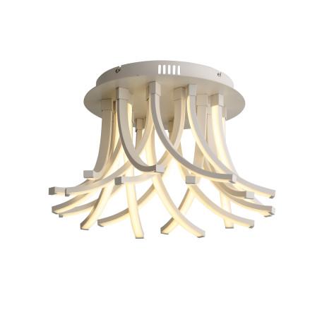 Потолочная светодиодная люстра с пультом ДУ ST Luce Filiali SL827.502.20, LED 112W 4000K 5994lm, белый, металл, металл с пластиком