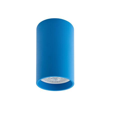 Потолочный светильник Denkirs DK2008-AZ, 1xGU10x50W, голубой, металл