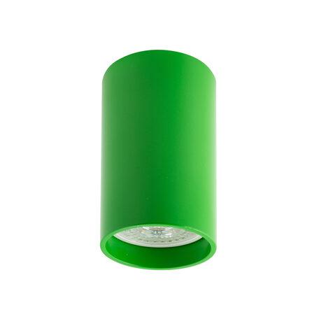 Потолочный светильник Denkirs DK2008-GR, 1xGU10x50W, зеленый, металл
