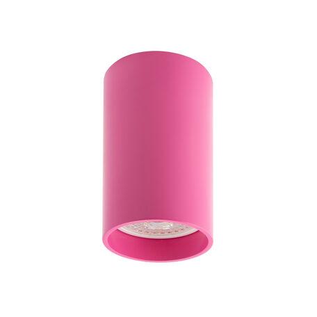 Потолочный светильник Denkirs DK2008-RO, 1xGU10x50W, розовый, металл