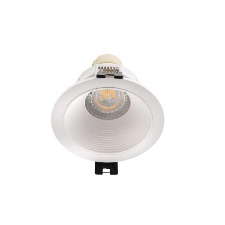 Встраиваемый светильник Denkirs DK3027-WH, 1xGU5.3x10W, белый, пластик