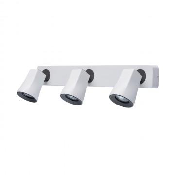 Потолочный светильник с регулировкой направления света De Markt Астор 545021203 SALE, 3xGU10x35W, белый, черно-белый, металл