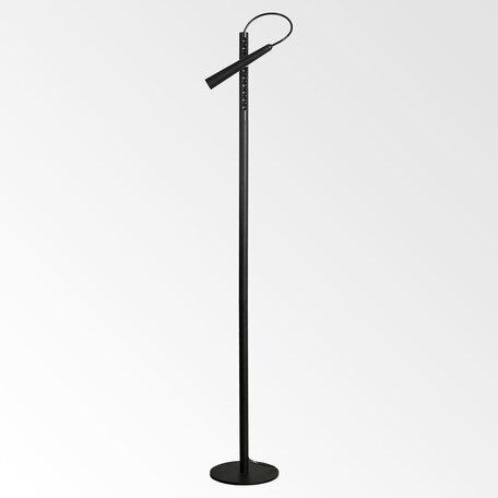 Светодиодный светильник Lussole Loft Dawson LSP-0576, IP21, LED 5W, черный, металл