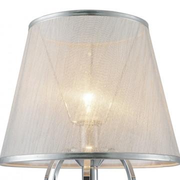Настольная лампа Freya Simone FR2020-TL-01-CH, 1xE14x40W, хром, серебро, прозрачный, металл, текстиль, хрусталь - миниатюра 9
