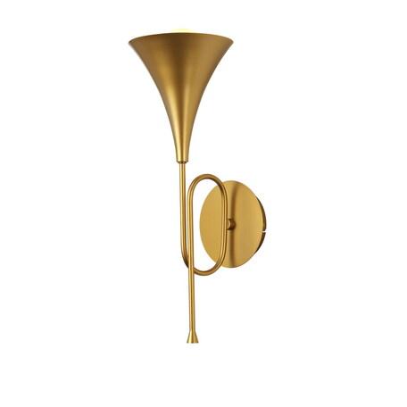 Бра Mantra Jazz 6353, золото, металл