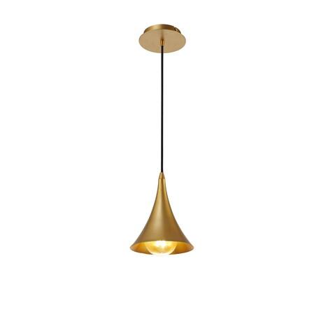 Подвесной светильник Mantra Jazz 6355, золото, металл