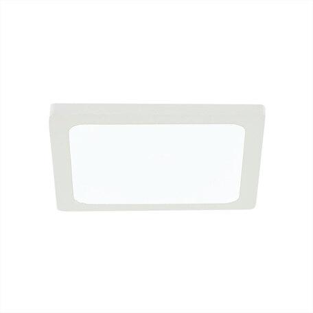 Встраиваемая светодиодная панель Citilux Омега CLD50K080N, LED 8W 4000K 640lm, белый, металл с пластиком