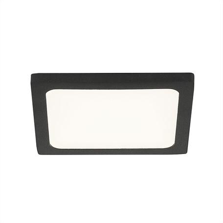 Встраиваемая светодиодная панель Citilux Омега CLD50K082, 3000K (теплый), белый, черный, металл, пластик
