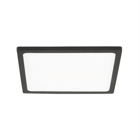 Встраиваемая светодиодная панель Citilux Омега CLD50K152, LED 15W 3000K 1200lm, черный, черно-белый, металл с пластиком