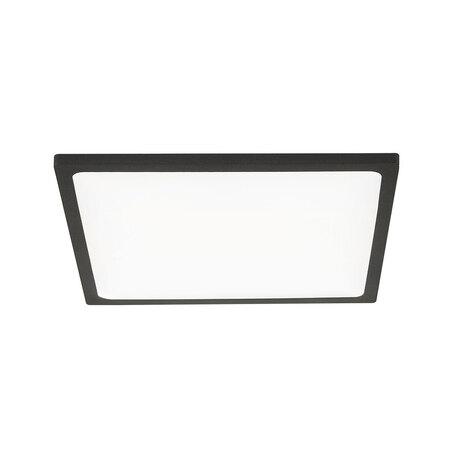Встраиваемая светодиодная панель Citilux Омега CLD50K222, 3000K (теплый), белый, черный, металл, пластик