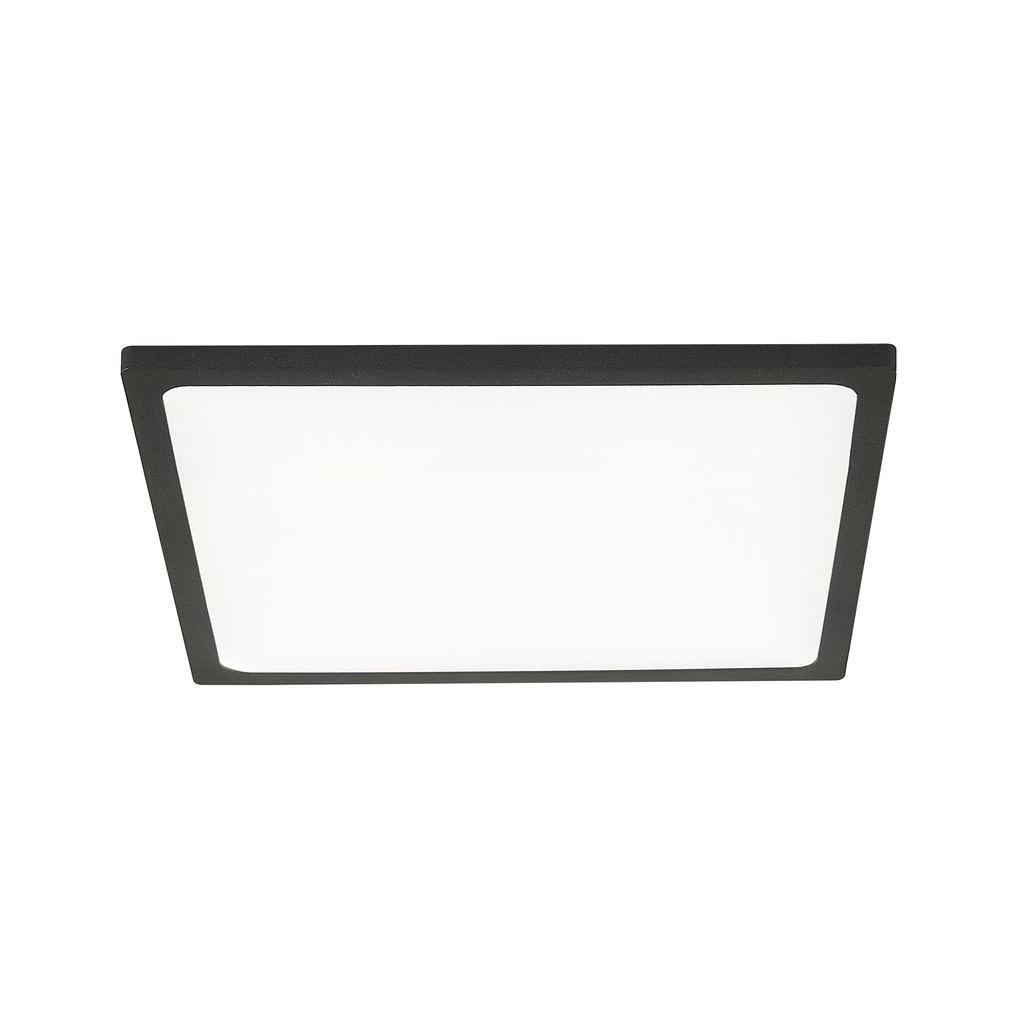 Встраиваемая светодиодная панель Citilux Омега CLD50K222, LED 22W 3000K 1760lm, черный, черно-белый, металл с пластиком - фото 1