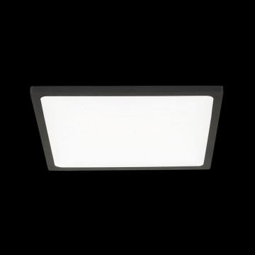 Встраиваемая светодиодная панель Citilux Омега CLD50K222, LED 22W 3000K 1760lm, черный, черно-белый, металл с пластиком - миниатюра 2