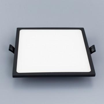 Встраиваемая светодиодная панель Citilux Омега CLD50K222, LED 22W 3000K 1760lm, черный, черно-белый, металл с пластиком - миниатюра 3