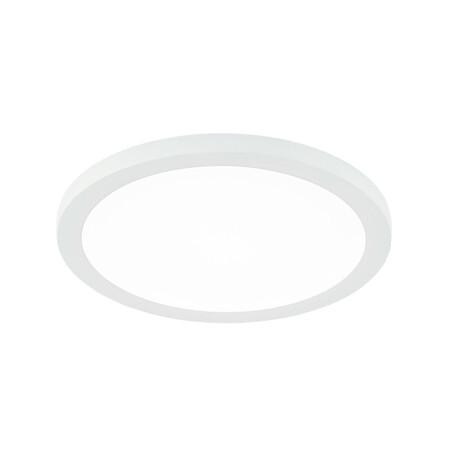 Светодиодная панель Citilux Омега CLD50R080, LED 8W 3000K 640lm, белый, металл с пластиком