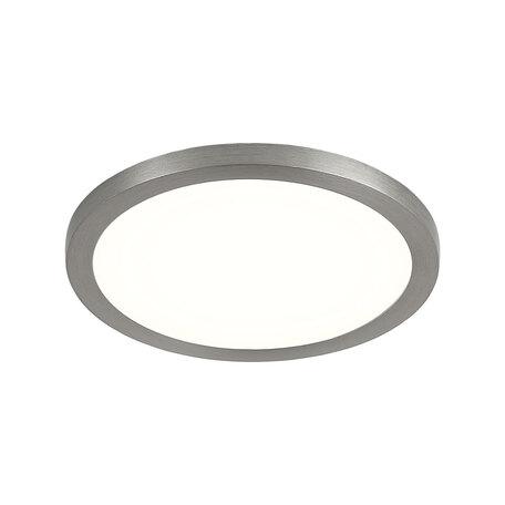 Встраиваемая светодиодная панель Citilux Омега CLD50R081, 3000K (теплый), белый, матовый хром, металл, пластик