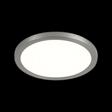 Встраиваемая светодиодная панель Citilux Омега CLD50R081, LED 8W 3000K 640lm, матовый хром, металл с пластиком - миниатюра 2