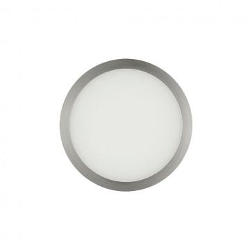 Встраиваемая светодиодная панель Citilux Омега CLD50R081, LED 8W 3000K 640lm, матовый хром, металл с пластиком - миниатюра 3