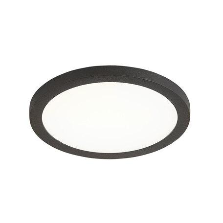 Встраиваемая светодиодная панель Citilux Омега CLD50R082, LED 8W 3000K 640lm, черный, черно-белый, металл с пластиком