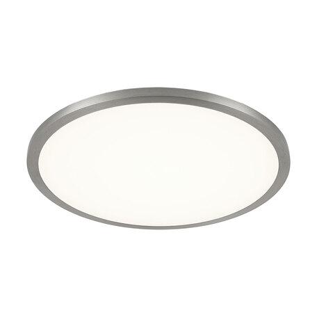 Встраиваемая светодиодная панель Citilux Омега CLD50R151, 3000K (теплый), белый, матовый хром, металл, пластик