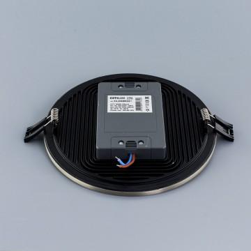 Встраиваемая светодиодная панель Citilux Омега CLD50R221, LED 22W 3000K 1760lm, матовый хром, металл с пластиком - миниатюра 4