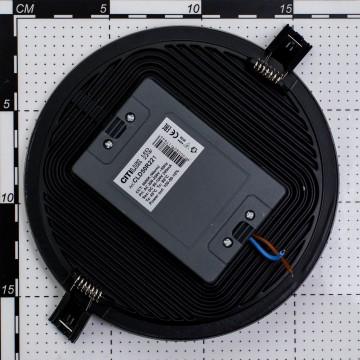 Встраиваемая светодиодная панель Citilux Омега CLD50R221, LED 22W 3000K 1760lm, матовый хром, металл с пластиком - миниатюра 6