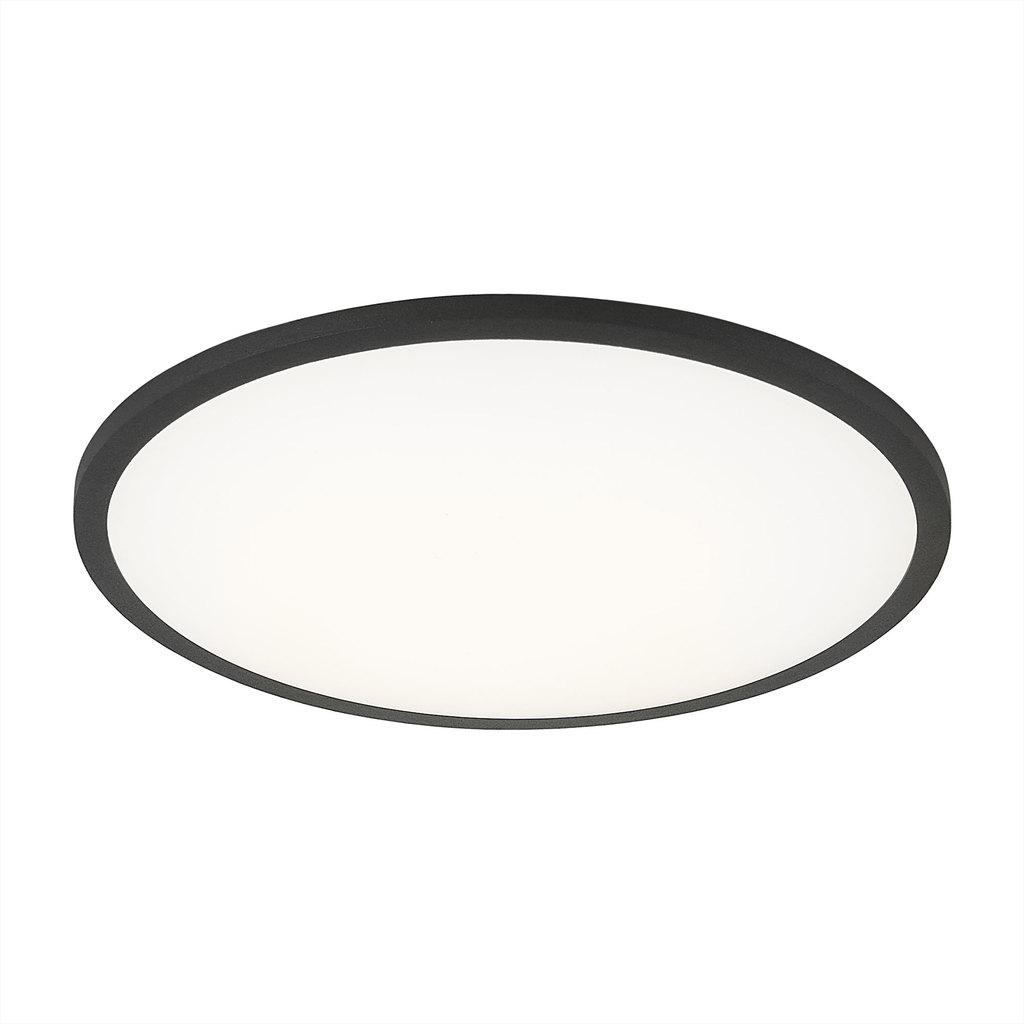 Светодиодная панель Citilux Омега CLD50R222, LED 22W 3000K 1760lm, черный, черно-белый, металл с пластиком - фото 1