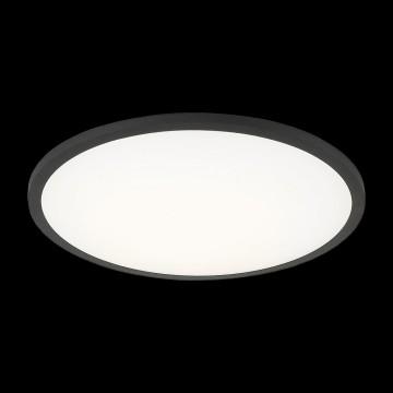 Светодиодная панель Citilux Омега CLD50R222, LED 22W 3000K 1760lm, черный, черно-белый, металл с пластиком - миниатюра 2